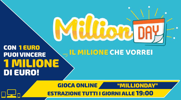 MillionDay online bettime