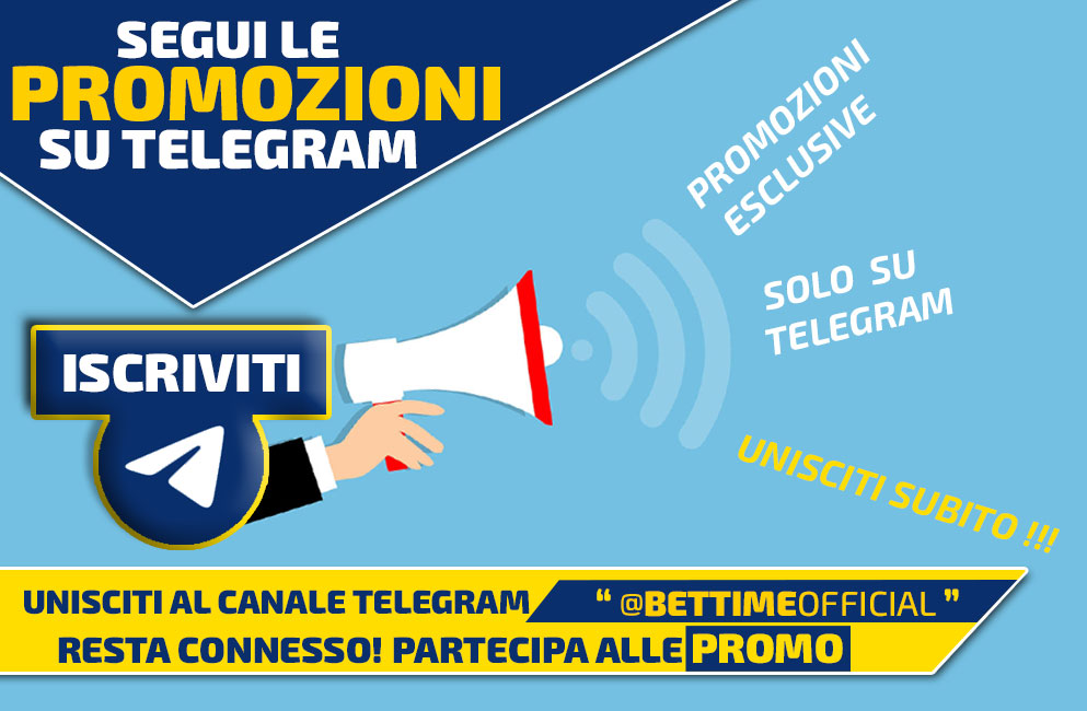 Canale Telegram Bettime